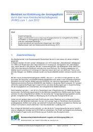 Merkblatt Kreislaufwirtschaftsgesetz - Transporteure