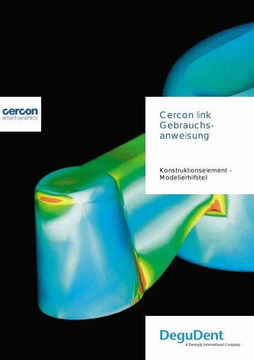 Cercon link Gebrauchs- anweisung