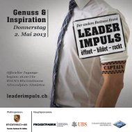 Booklets - LEADERIMPULS