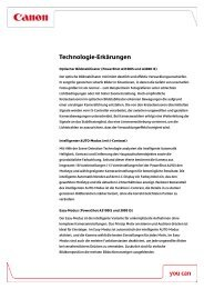 Nähere Technische Informationen [PDF, 103 KB] - Canon