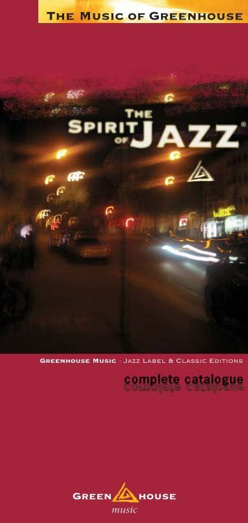 Katalog 2007 12 - Greenhouse Music