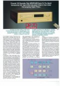 COMPACT DISC PLAYER - Accuphase - Page 2