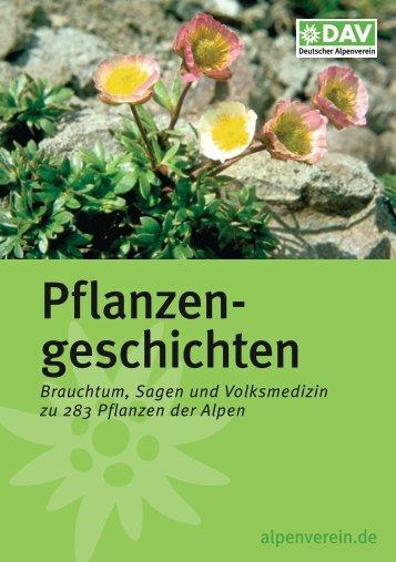 Pflanzen- geschichten - Deutscher Alpenverein