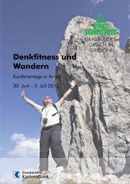 Denkfitness und Wandern - Pro Senectute Schweiz