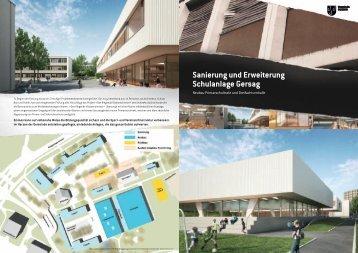 Sanierung und Erweiterung Schulanlage Gersag - Gemeinde Emmen