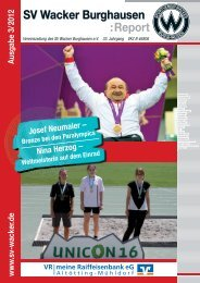 VitaSport - SV Wacker Burghausen eV