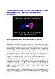 größtes Umerziehungsprogramm der Menschheit - deutschelobby
