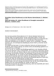 gemeinderatsprotokoll 1922