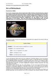 Ein LoTW-Kochbuch