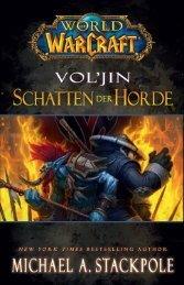 """Zur Leseprobe """"Vol'jin – Schatten der Horde"""" - World of WarCraft"""
