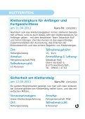 Programm Frühjahr 2012 Master - Alpenverein Bayreuth - Seite 6