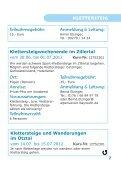 Programm Frühjahr 2012 Master - Alpenverein Bayreuth - Seite 7