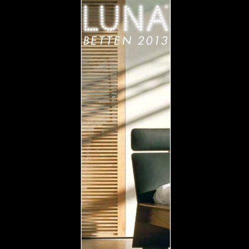 LUNA Katalog Betten 2013