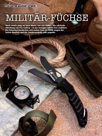 MILITÄR-FÜCHSE - FKMD - FOX Knives Military Division