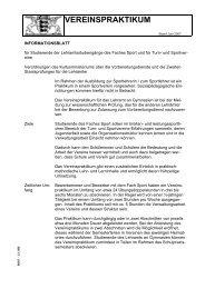 VEREINSPRAKTIKUM - Lehrer.uni-karlsruhe.de
