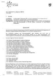 Niederschrift Erörterung - Bündnis MUT
