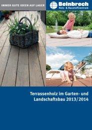 Terrassenholz Katalog 2013 / 14 - Beinbrech Holz und ...