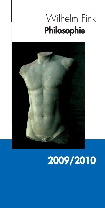 FV Philo-Inhalt-09.qxd - Wilhelm Fink Verlag