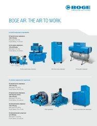 Oil Free Piston compressor - Air Repair LLC