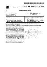 Anordnung und Verfahren zur optischen Detektion von ... - Patente