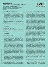 ZVEI - Softwareklausel Format - Doepke