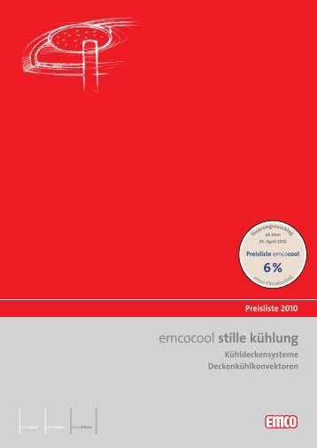 Download emcocool Preisliste - emco klima