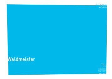 waldmeister.pdf (1,6 MB) - Jürgen X. Albrecht
