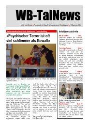 Sekundarschule Waldenburgertal - Basler Zeitung
