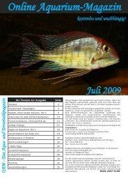 OAM Ausgabe Juli 2009