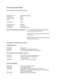 Informationen zu Markus Meckel Ehem. Mitglied des Deutschen ...