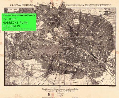 150 JAHRE HOBRECHT-PLAN FÜR BERLIN