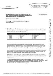 Notdienstverordnung Anhang C_ÄND - Ärztekammer Oberösterreich