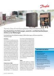 Termix One-B mit kompletter Wärmedämmung - Danfoss Wärme ...