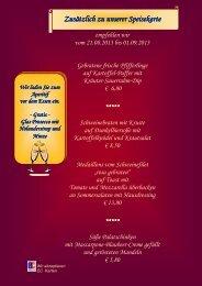 Download Speisekarte - Antonius Tenne