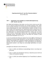 Protokoll des Jour Fixe am 22.03.2012 - Blog