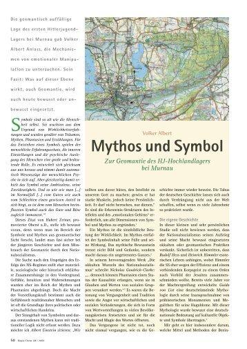 Mythos und Symbol
