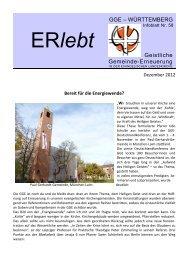 Download - Nr. 57 - September 2012 als PDF-Datei - Geistliche ...