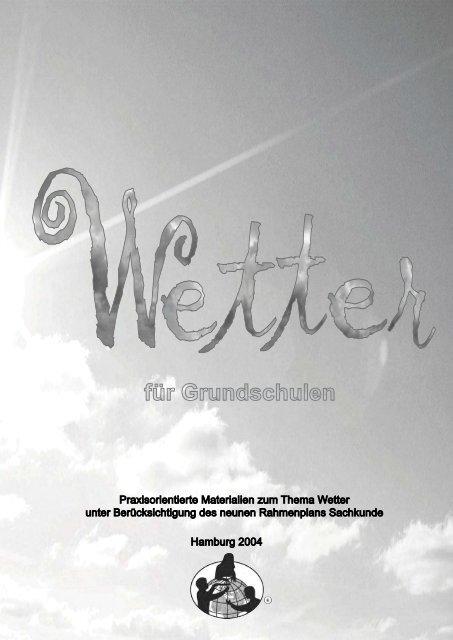 Deckblatt Wettertagebuch