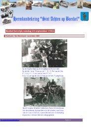 Boekel bevrijd, zondag 24 september 1944.