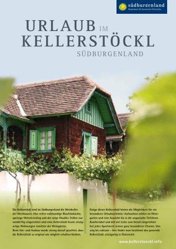KellerstöcKl UrlAUB - Südburgenland Tourismus