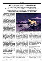 Die Physik des neuen Jahrhunderts - Borderlands of Science