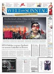 Die ausgezeichneten Seiten der WELT am ... - Axel Springer AG