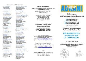 Den Flyer zur Veranstaltung mit weiteren Informationen und dem ...