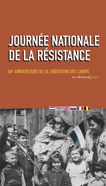 60e ANNIVERSAIRE DE LA LIBÉRATION DES CAMPS - Seconde ...