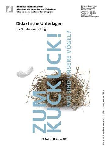 Zum Kuckuck - wo sind unsere Vögel? (2011) - Bündner ...