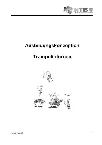 Ausbildungskonzeption Trampolinturnen - NTB