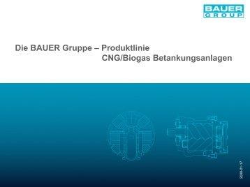 Die BAUER Gruppe –ProduktlinieCNG/Biogas ... - methaPUR