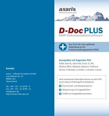 Kompatibel mit folgenden PVS Kontakt - axaris - software & systeme ...