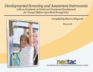 Developmental Screening and Assessment Instruments - Health and ...