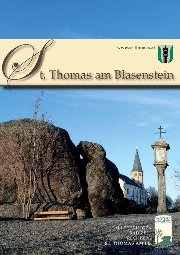 finden Sie das Ortsprospekt zum Download. - St. Thomas am ...